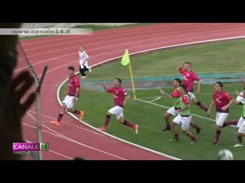 Calcio Eccellenza [14-10-2018] Tolentino 2 - 1 Sassoferrato G.