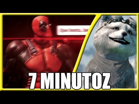 #REACT - Homem-Aranha VS. Deadpool | Duelo de Titãs (7 Minutoz)