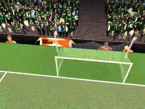 Goalkeeper scores in a Power Soccer Match