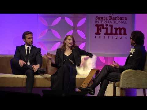 "SBIFF 2017 - Ryan Gosling & Emma Stone Call Each Other ""Emsies"" & ""Rysies"""