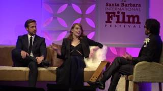 "SBIFF 2017 - Ryan Gosling & Emma Stone Call Each Other ""Emsies"" & ""Rysies"""