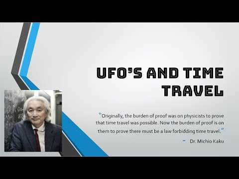 [Lecture 5] Ufo's and Time Travel
