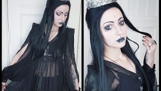 Gothic Ice Queen - GRWM + Wig Review! (Everydaywigs.com)