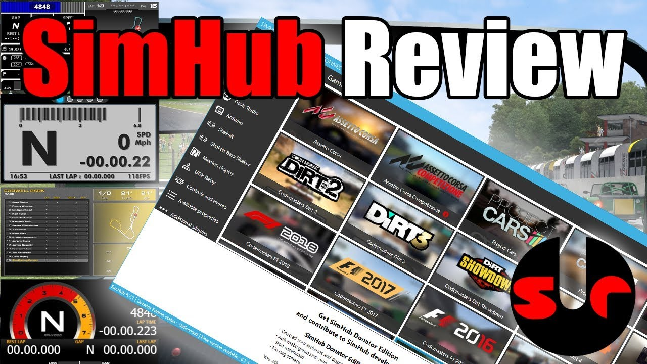 SimHub Review - An essential addition to a sim racers arsenal!