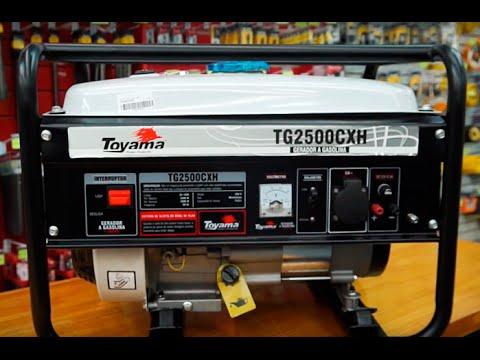 Toyama - Gerador de Energia a Gasolina TG2500CXH