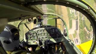 Short training session with a SAAB Safir (SK 50)