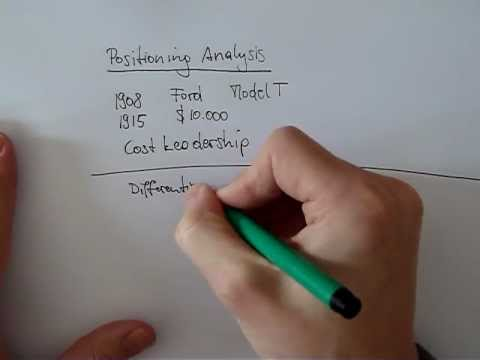 Strategy 101 - Session 3: Positioning Analysis (Cost Leadership and Differentiation)