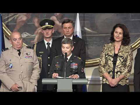 Opening Ceremony, NATO Military Committee Conference, Ljubljana, Slovenia - 13 SEP 2019
