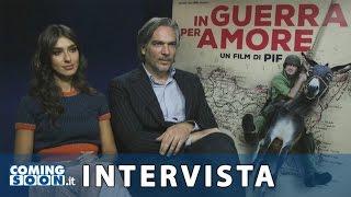 In guerra per amore: intervista esclusiva di Coming Soon a Stella Egitto e Andrea Di Stefano | HD