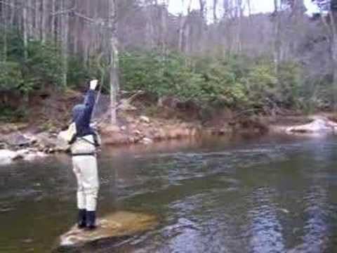 Fly fishing west virginia youtube for Trout fishing in wv
