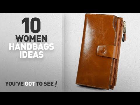 Top 10 Handbag And Wallet [ Winter 2018 ]: YALUXE Women's RFID Blocking Large Capacity Luxury Wax