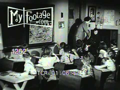 1950s U.S.A. Patriotism / Education American Way Of Life