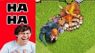 Clash of Clans Funny Moments Trolls Compilation #2