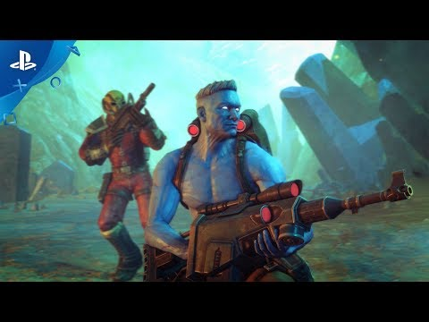 Rogue Trooper Redux – Gameplay & Developer Commentary | PS4
