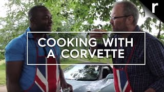 Cooking with a Corvette engine: Robert Llewellyn's V8 car-b-que