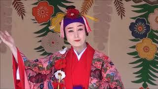 【首里城の舞】 本貫花 首里伝統芸能文化協会 2017.10.7