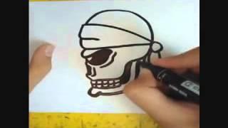 Как нарисовать голову скелета!!!(, 2013-08-18T16:50:28.000Z)