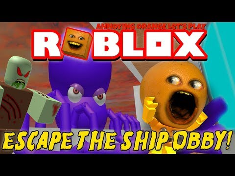 Thumbnail: Annoying Orange Plays - ROBLOX: Escape the Ship OBBY!