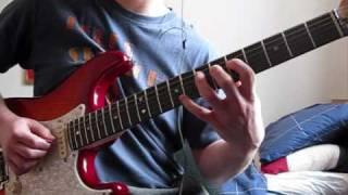 Funk Guitar Improvisation with Fender Strat