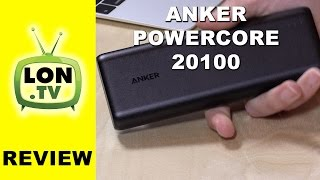 Anker Powercore 20100 Review - High capacity & inexpensive battery pack for phones and tablets