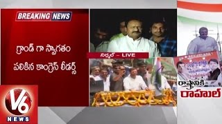 Rahul Gandhi Kisan Sandesh Rally | Congress leader Shabir Ali slams CM KCR governance (14-05-2015)