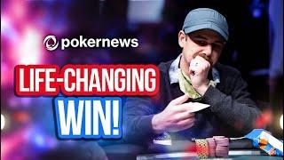 WSOP 2021   Denove's Dream Comes True In Doublestack!   Interview
