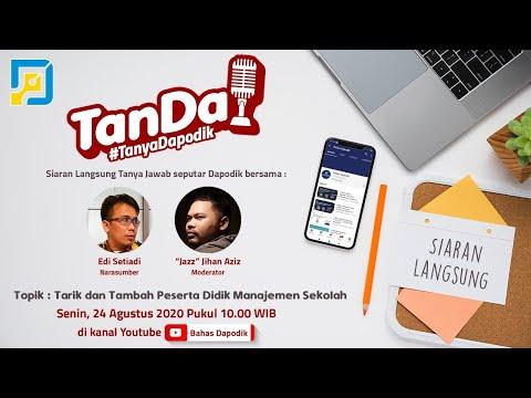Tanya Dapodik: Tarik dan Tambah PD Manajemen Sekolah