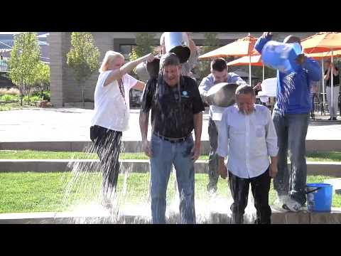 ALS Ice Bucket Challenge with Jeff Smulyan and Rick Cummings