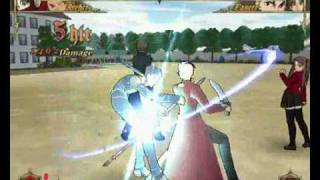 Fate Stay Night gameplay 4