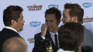 «Стражи галактики» представили свой фильм в Голливуде (новости) http://9kommentariev.ru/