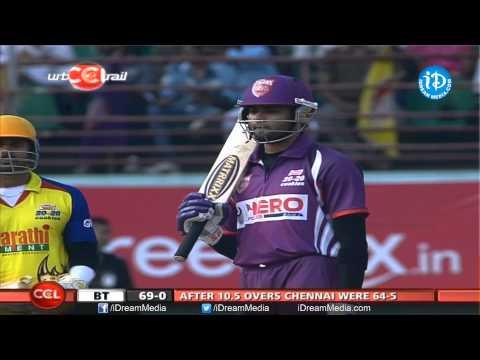 CCL 4  Bengal Tigers VS Chennai Rhinos Match Part 6