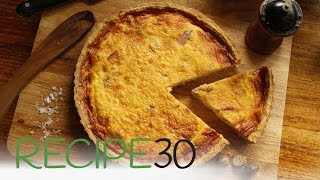 The best authentic quiche recipe QUICHE LORRAINE