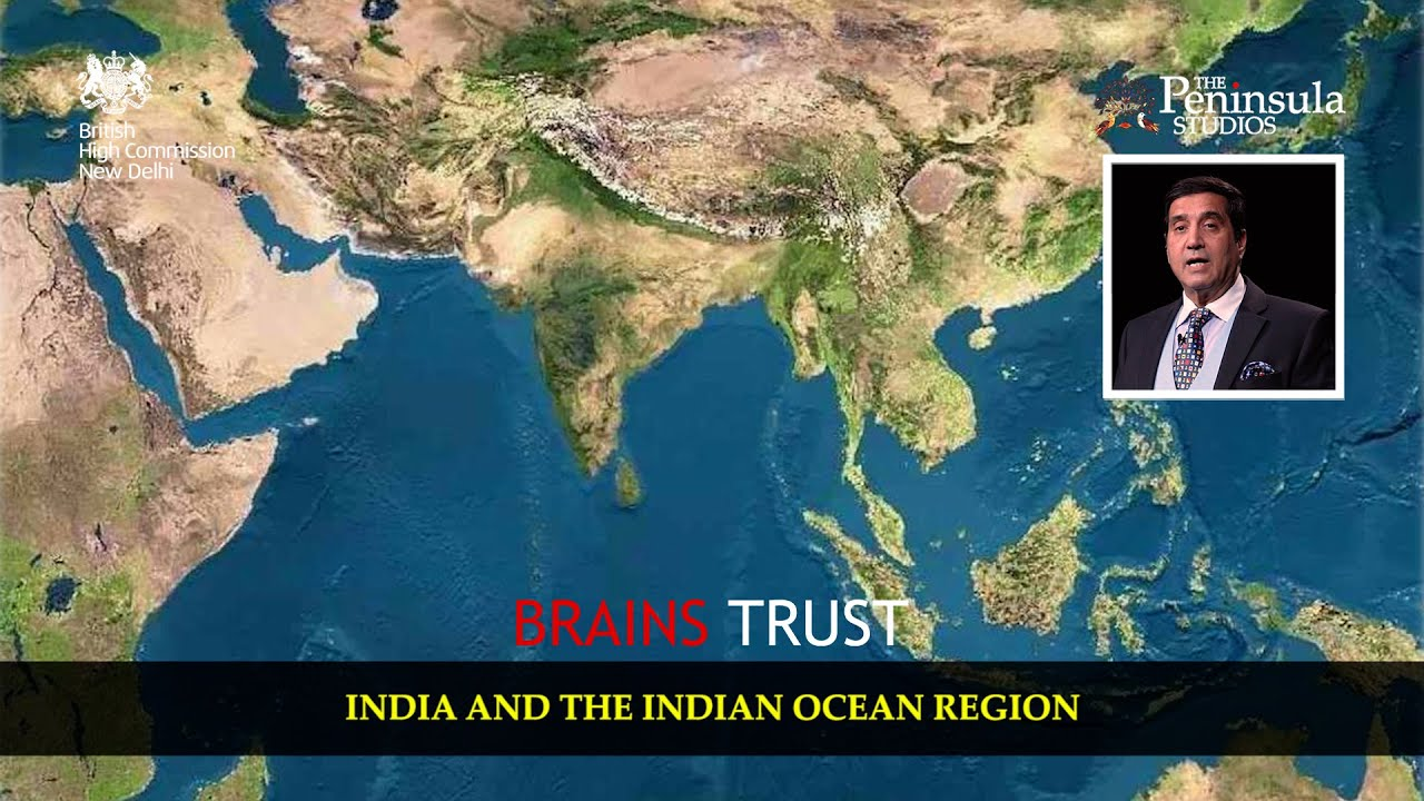 Admiral Robin Dhowan | Indian Navy | Indo-Pacific Region | India and the world | Brains Trust India