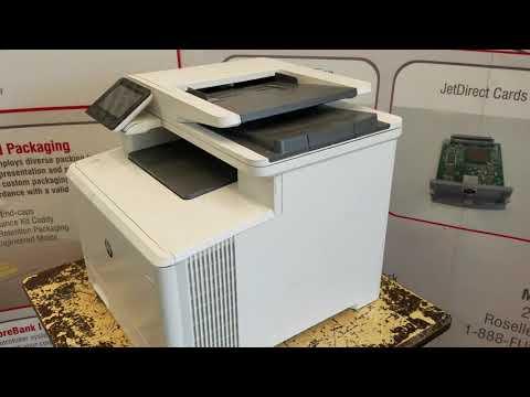 HP Color Laserjet M477 M377 M426 M281 M427 M277 ADF Maintenance Kit Replacement Instructions (Video)