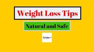 6 natural quick weight loss tips - 123abc