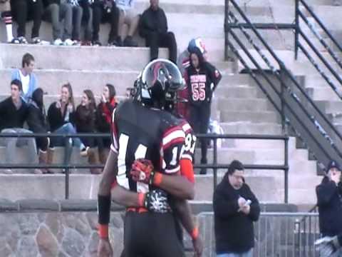 CT HS Football 2011: Bryan Boderick touchdown run vs. New Canaan (Week 8)
