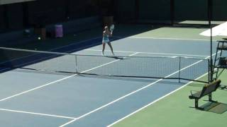Urszula Radwanska Volleying