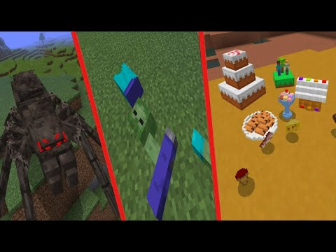 10 Amazing Minecraft Mods For Survival 2019 (Bedrock Edition)