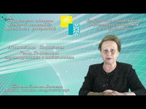Шевченко Л.Я.Социальная стратификация и мобильность