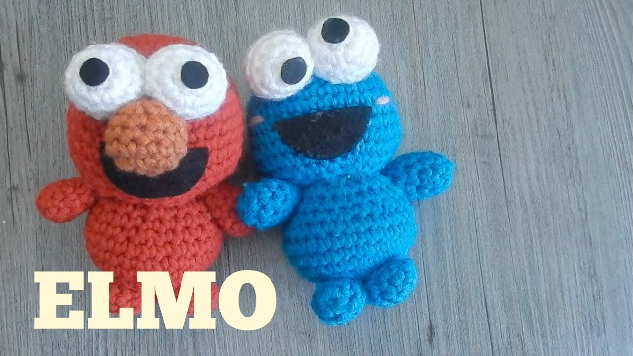 Amigurumi Olaf Tutorial : Amigurumi elmo sesame street crochet tutorial youtube