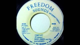 FRANKIE JONES & THE NAZARINES - Company [1979]