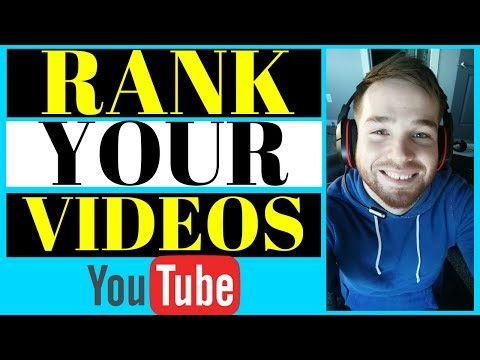 How To Rank Youtube Videos Fast (2020) - How To Rank Your Youtube Videos First Page (2020)
