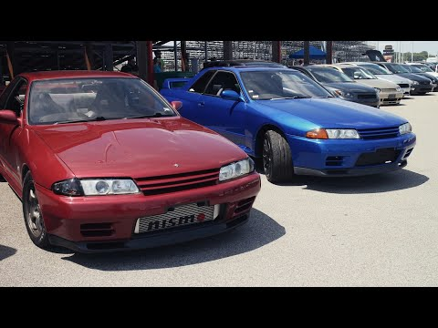 Imported Nissan Skyline R32 GT-R in America!