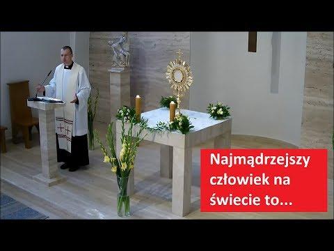 Najmądrzejszy człowiek na świecie to... - ks. Radosław Siwiński