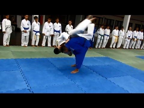 Aprenda Boas Quedas de Judo - Feu Bjj