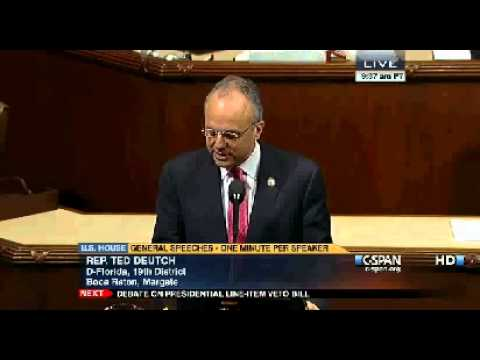 Rep. Deutch on Sanctioning Central Bank of Iran