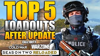 Top 5 Loadouts & Class Setups in WARZONE After 1.34 Update (Amax, FFAR, Mac-10, Kar98k, AUG & M16)