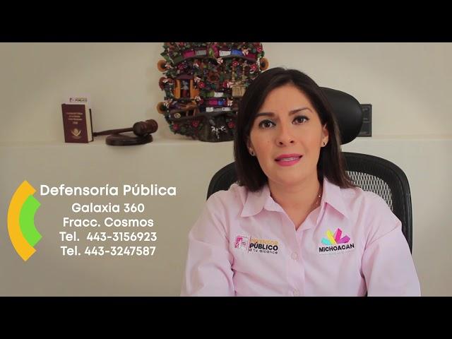 Defensoría Pública - Gobierno de Michoacán