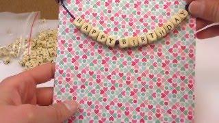 DIY Haul | Neue Buchstabenperlen & 2 süße Ideen mit Perlen | Geschenke & tolle Überaschung
