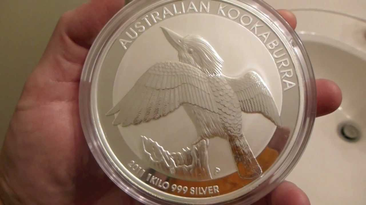 2011 Australian Perth Mint Kookaburra 1 Kilo 32 15 Ounces